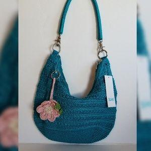 The Sak Diana Teal Shoulder Bag